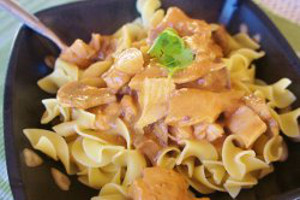 Thrifty Chicken Stroganoff