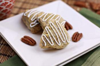 Copycat Starbucks Maple Nut Scones