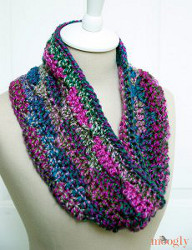 Single Skein Grapevine Cowl