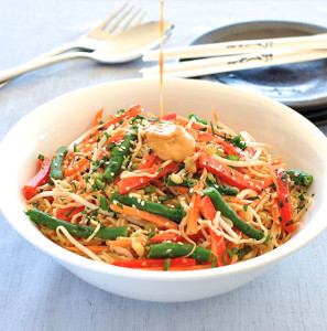 Noodle-Salad-with-Creamy-Sesame-Peanut-Dressing