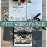 47-free-wedding-printables