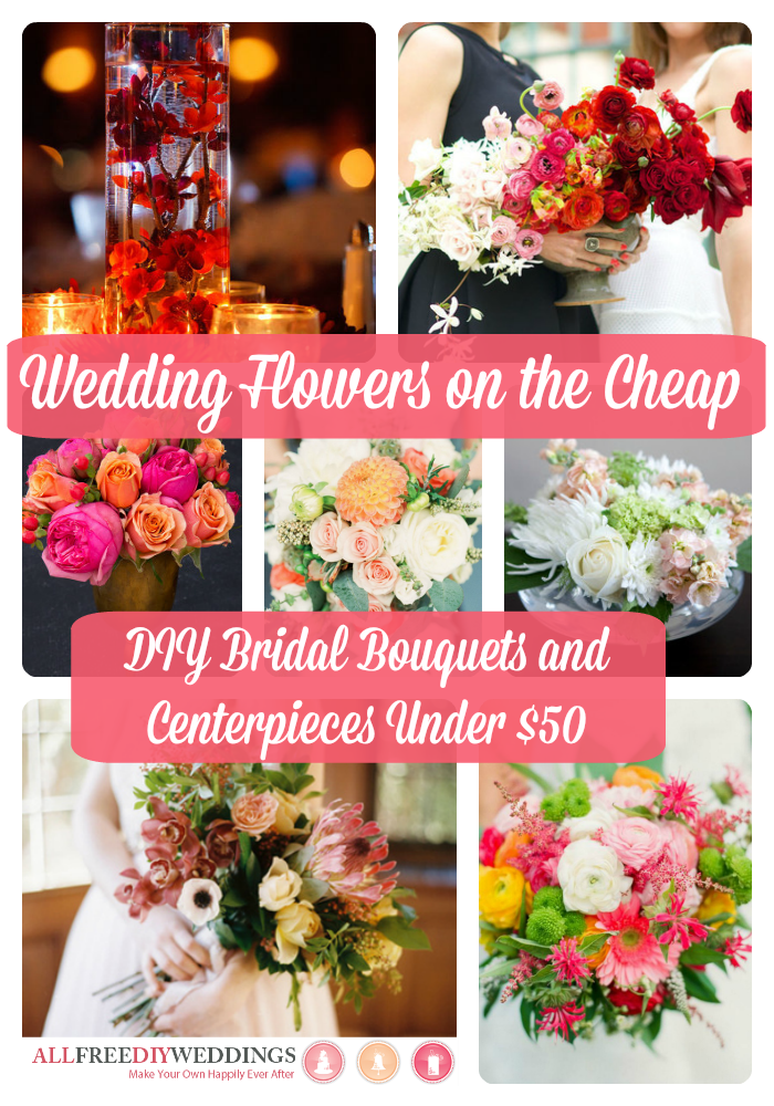 Wedding flowers on the cheap diy bridal bouquets and