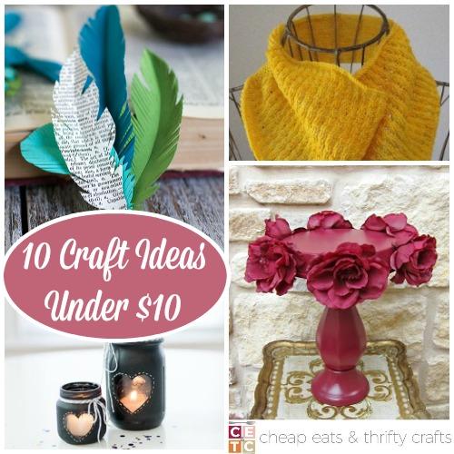 Cheap Craft Ideas