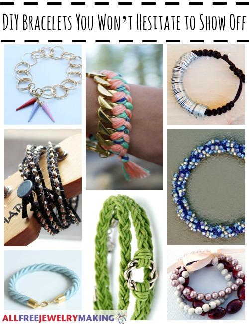 DIY Bracelets You Won't Hesitate to Show Off