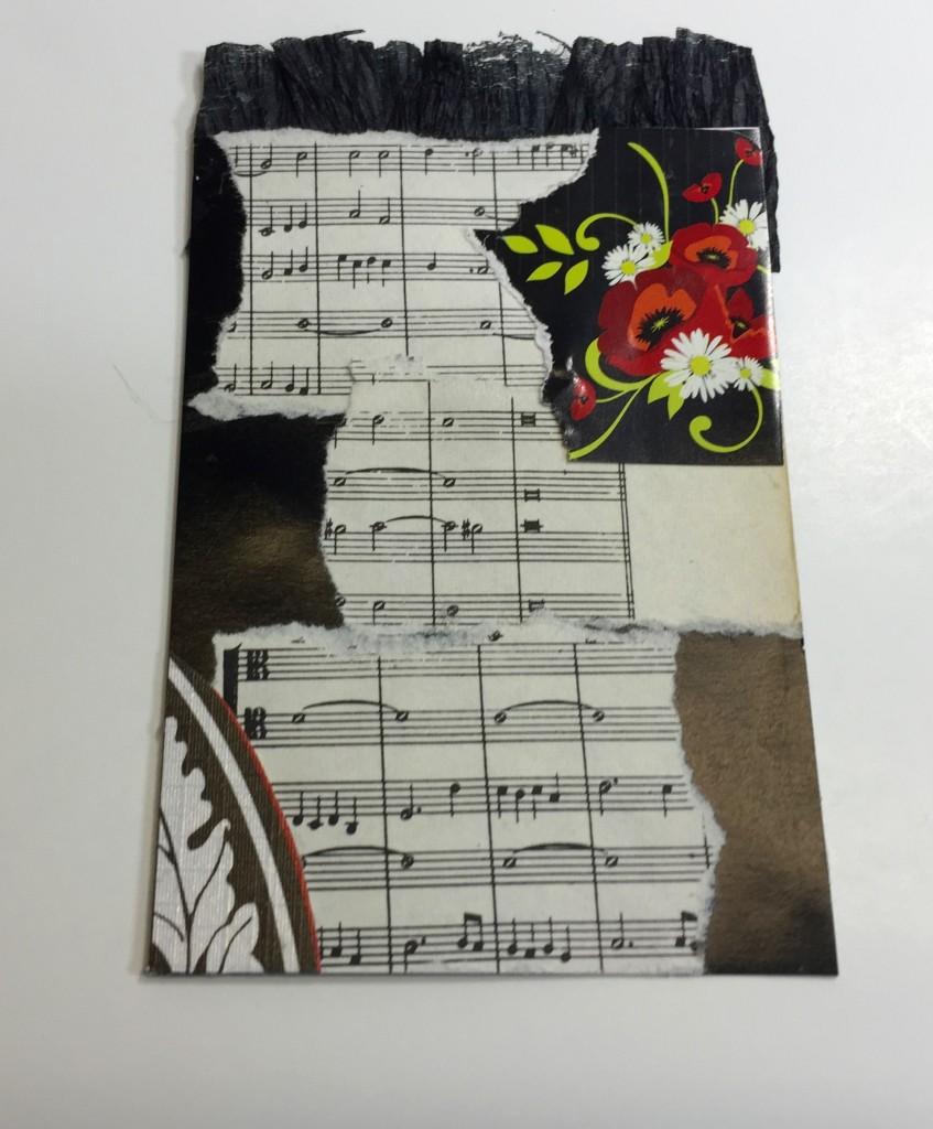 Pocket Letter handmade insert