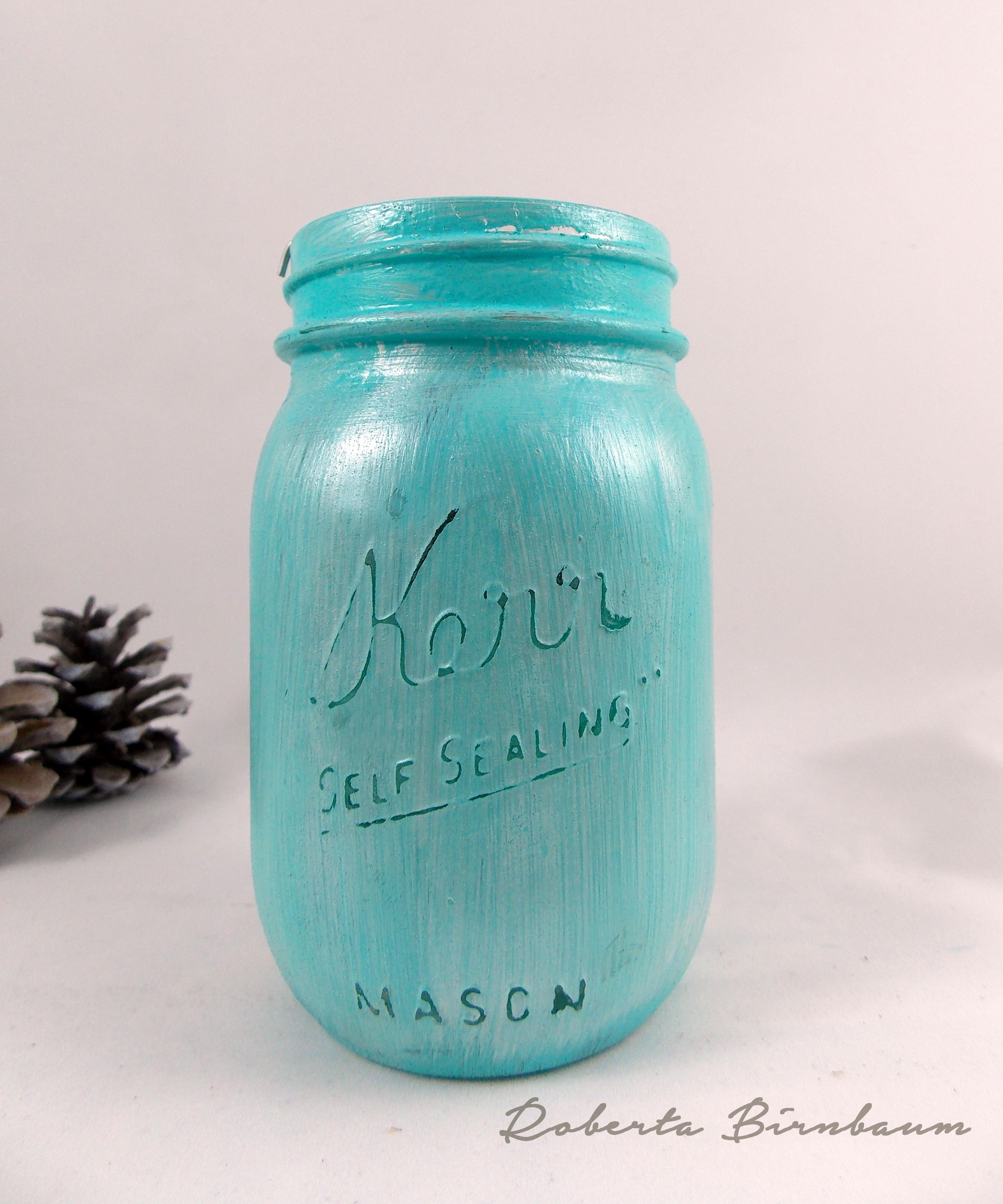 Quick and Easy DIY Mason Jar Tea Light Holder - Cheap Eats and ...