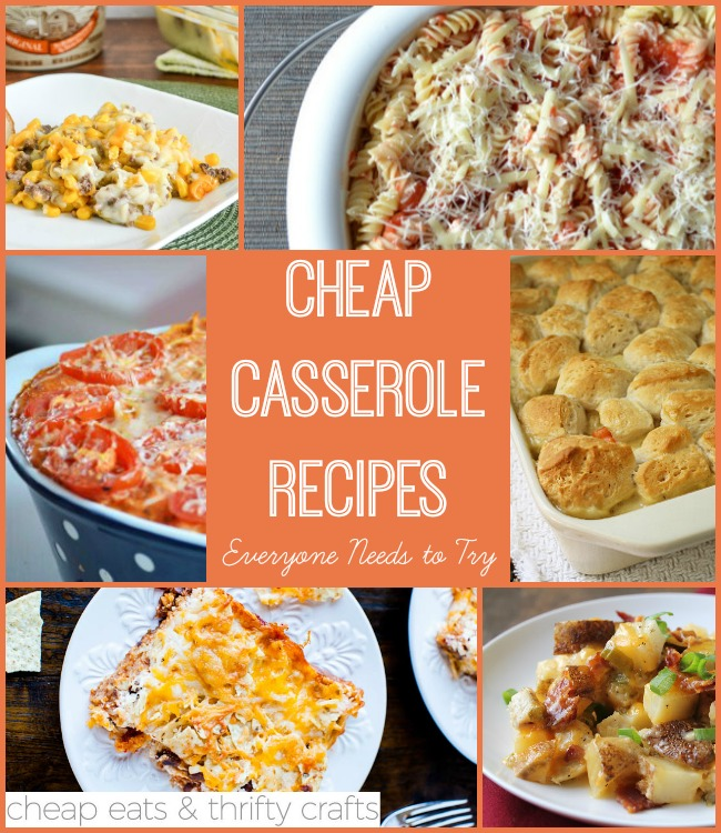 Cheap Casserole Recipes Everyone Needs To Try