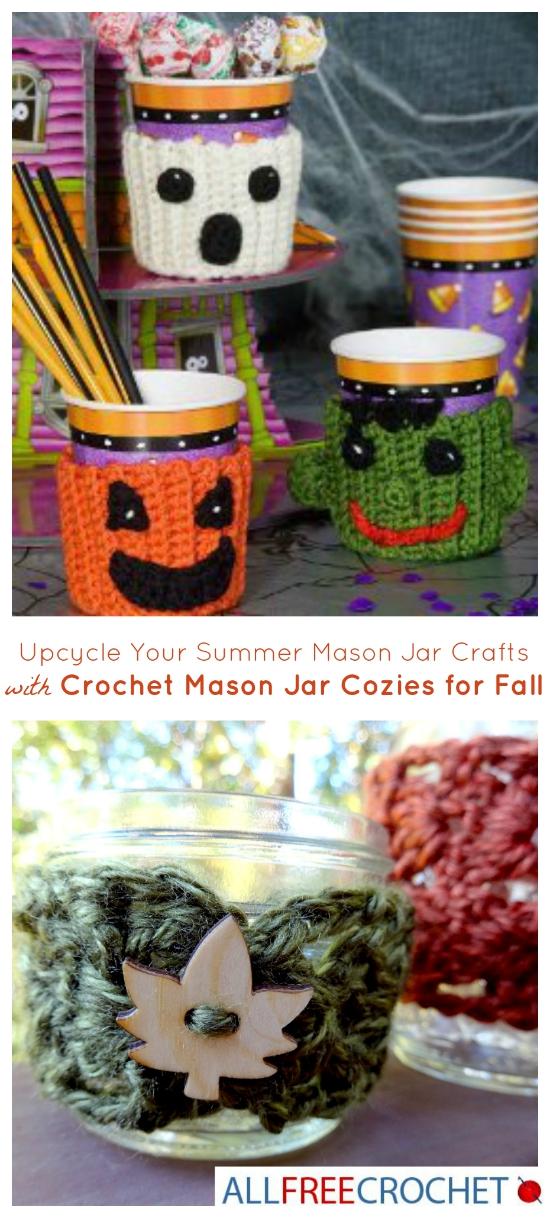 CrochetMasonJarCozysforFall