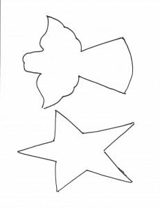 Angel-star garland