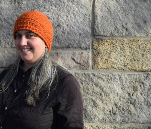 Halfway Harvest Hat, free #crochet pattern by Marie Segares @ucrafter