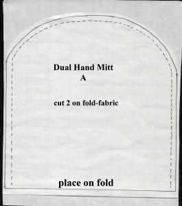 Dual Hand Mitt-Pattern A