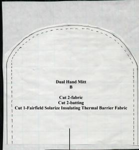 Dual Hand Mitt-pattern B1