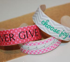Fashionable Popsicle Stick Bracelets
