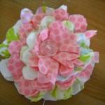 Spring Scrap Fabric Flowers