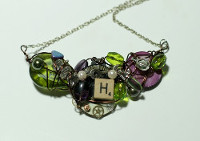 Chunky Charm Necklace