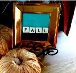 Decorative Fall Frame