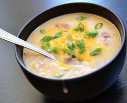 Budget Potato Soup