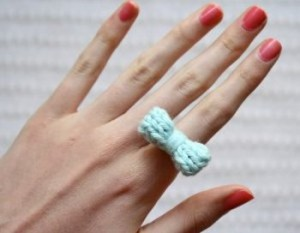 10 Minutes Knit Ring