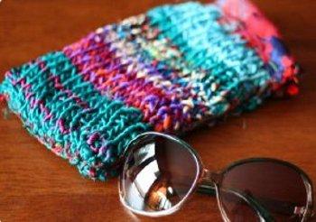 Knit Sunglasses Case