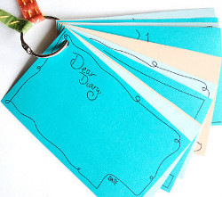 Dear Diary Notecards