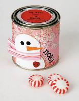 Peppermint Treat Jar