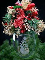 Hanging Holiday Bouquet