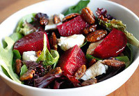 Red and Green Holiday Salad
