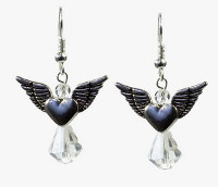 Divine Angel Dangle Earrings