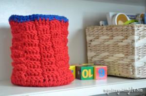 Crochet-toy-basket