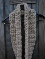 Easy Winter Infinity Scarf