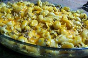 Easy Cheesy Pasta Casserole