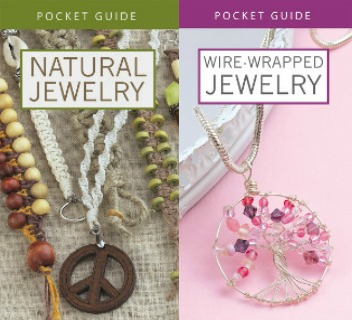 Wire-Wrapped Jewelry and Natural Jewelry Pocket Guide Giveaway