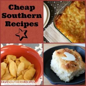Cheap Southern Recipes