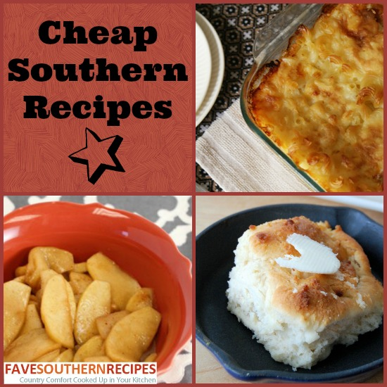 Cheap Southern Recipes