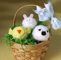 Fuzzy Easter Friends