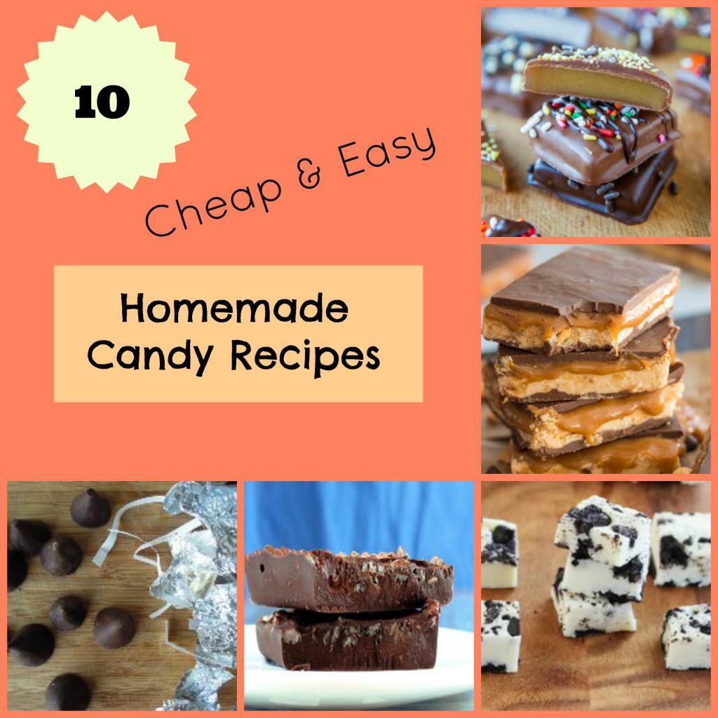10 Cheap & Easy Homemade Candy Recipes