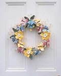 Crochet Spring Celebration Wreath