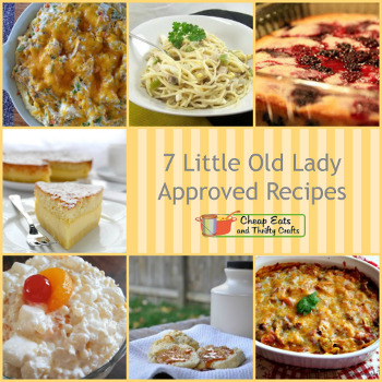 Little Old Lady Approved Recipes