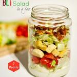Layered Salad in a Jar