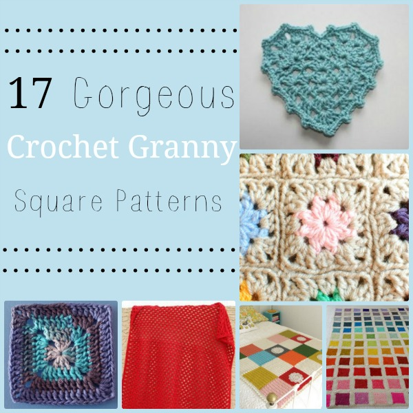 17 Gorgeous Crochet Granny Square Patterns Cheap Eats And Thrifty