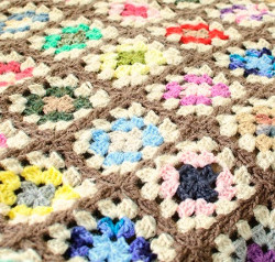 The Amazing Technicolor Afghan