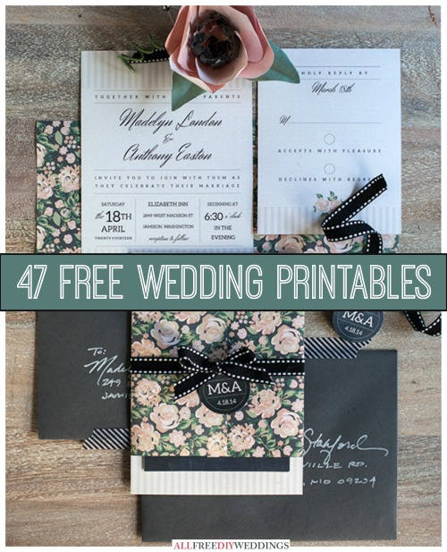 47-free-wedding-printables