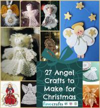 27 Angel Crafts to Make for Christmas