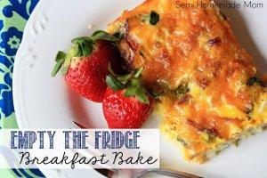 Empty-the-Fridge Breakfast Bake