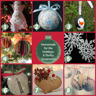 Homemade for the Holidays: 8 Thrifty Ornaments