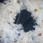Plastic Bag Wreath