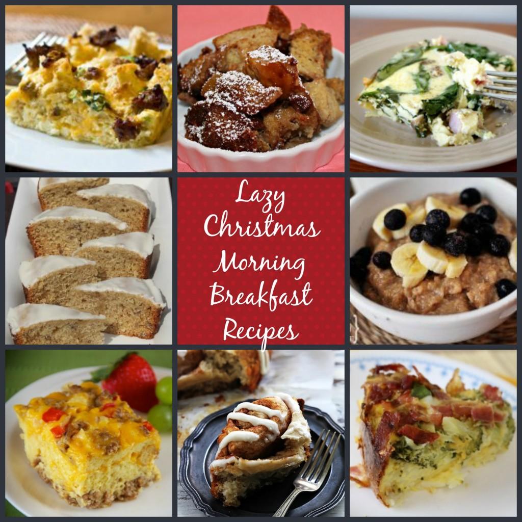 Lazy Christmas Morning Breakfast Recipes