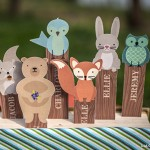 Woodland Creatures Bookmark
