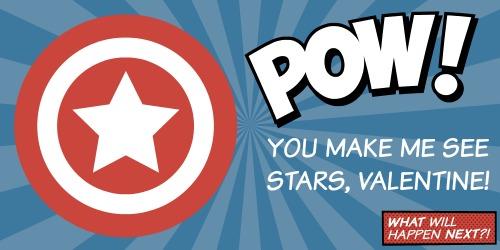 Captain America Valentine