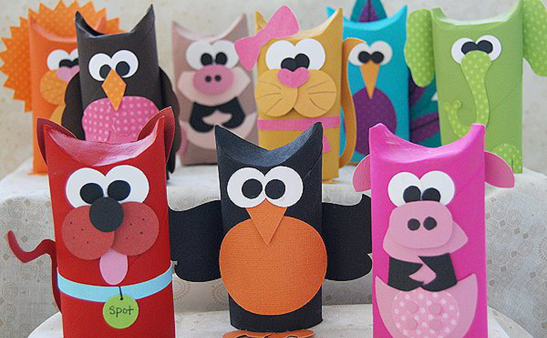 Cute Animal Toilet Paper Roll Crafts You Should Make For